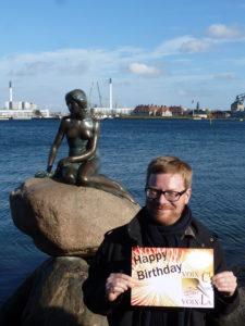 Copenhague-lille havfruen + dansker